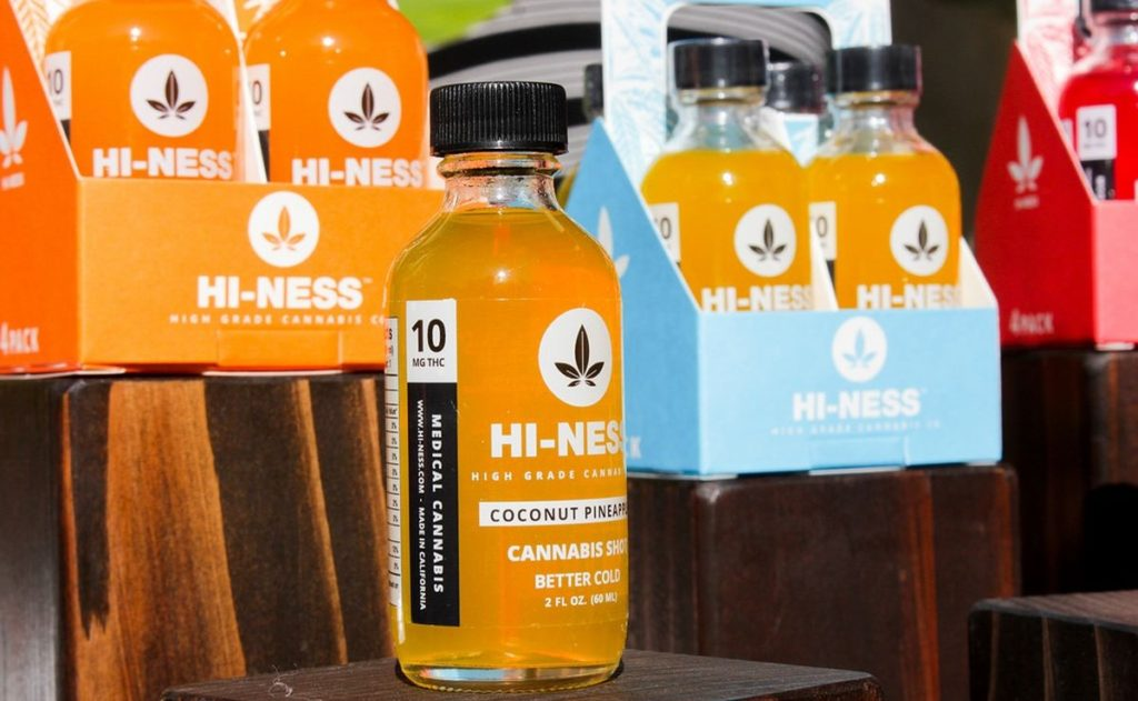 Beverage Companies Take On Demand for Cannabis Drinks