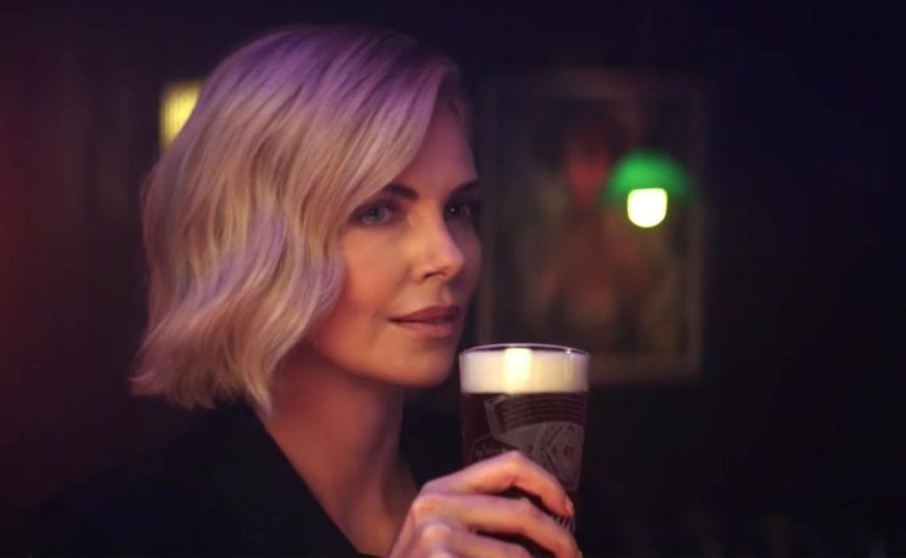 Hold My Beer: Budweiser & Charlize Theron Join Forces